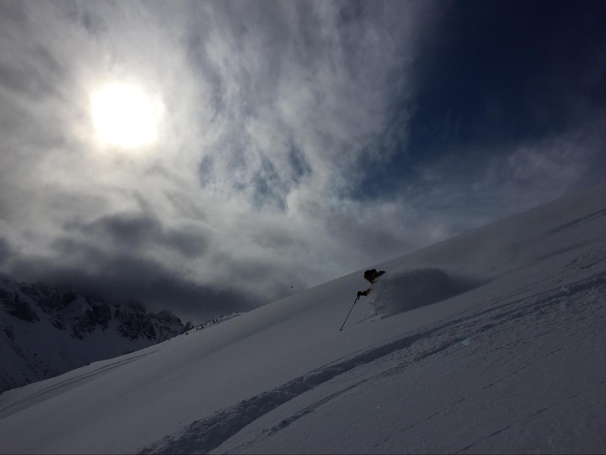 סקי off pist