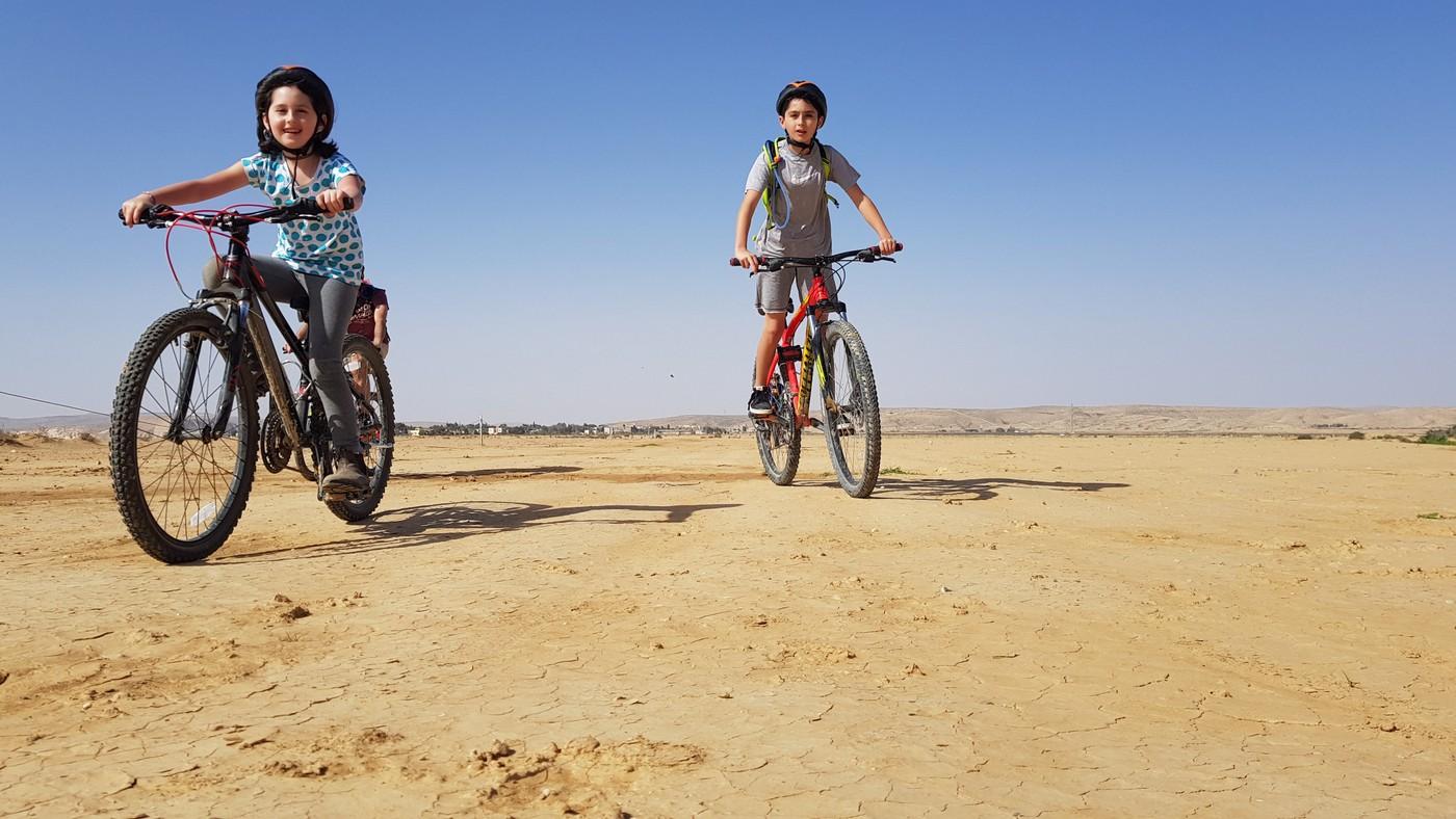 אופניים בנגב