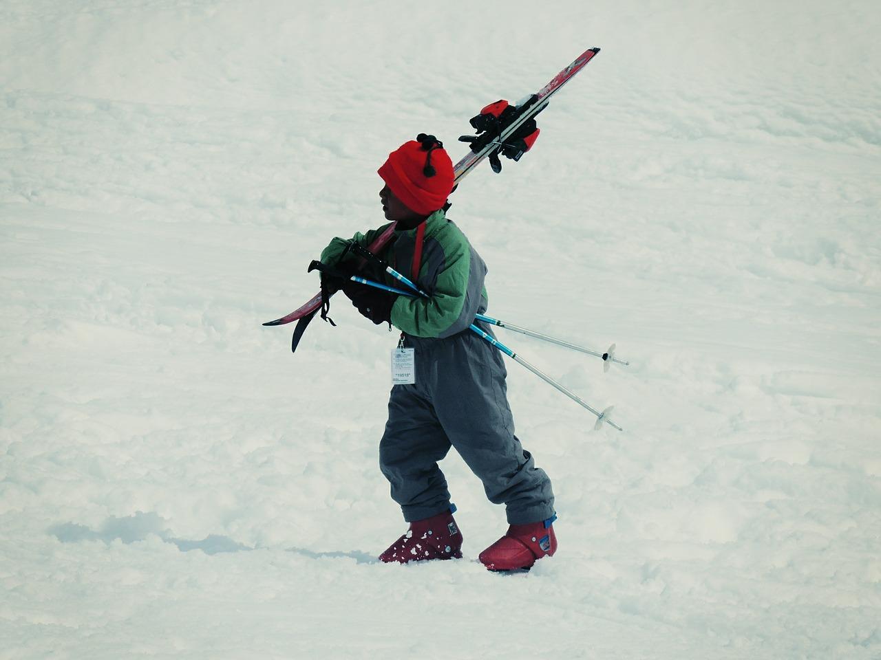 ילדים בסקי