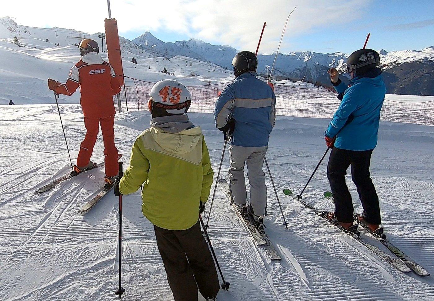 מדריך סקי