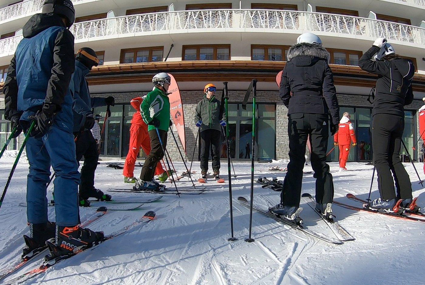 הדרכת סקי