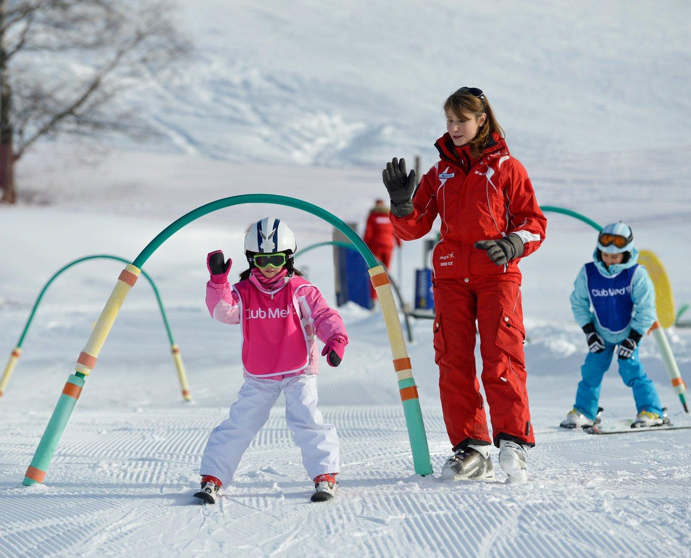 סקי ילדים