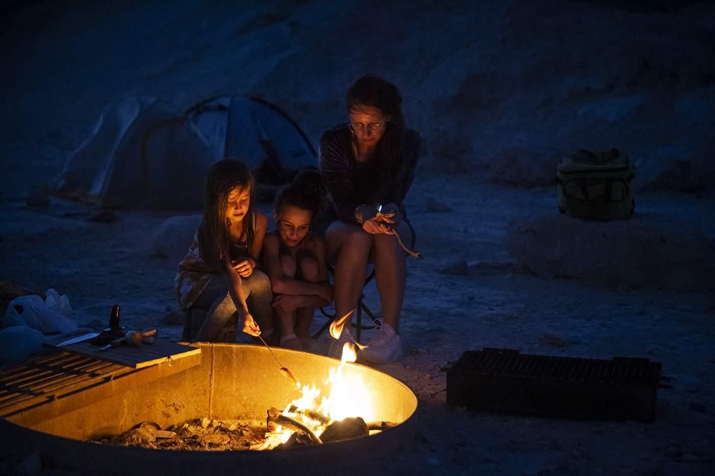 חניון לילה הר קנאים