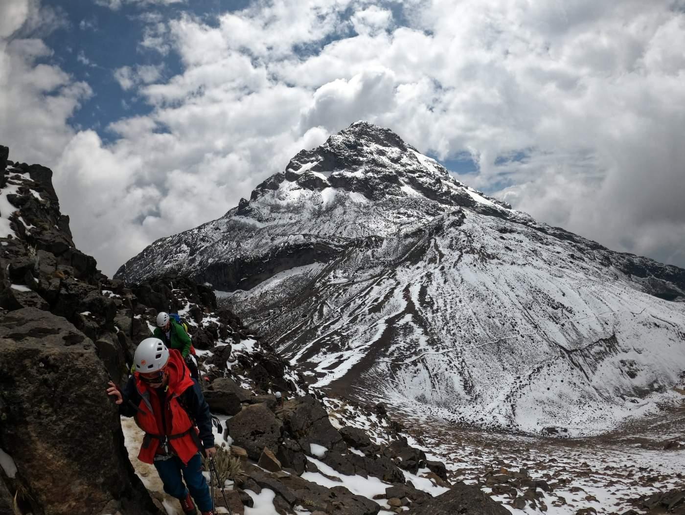 טיפוס הר געש אקוודור