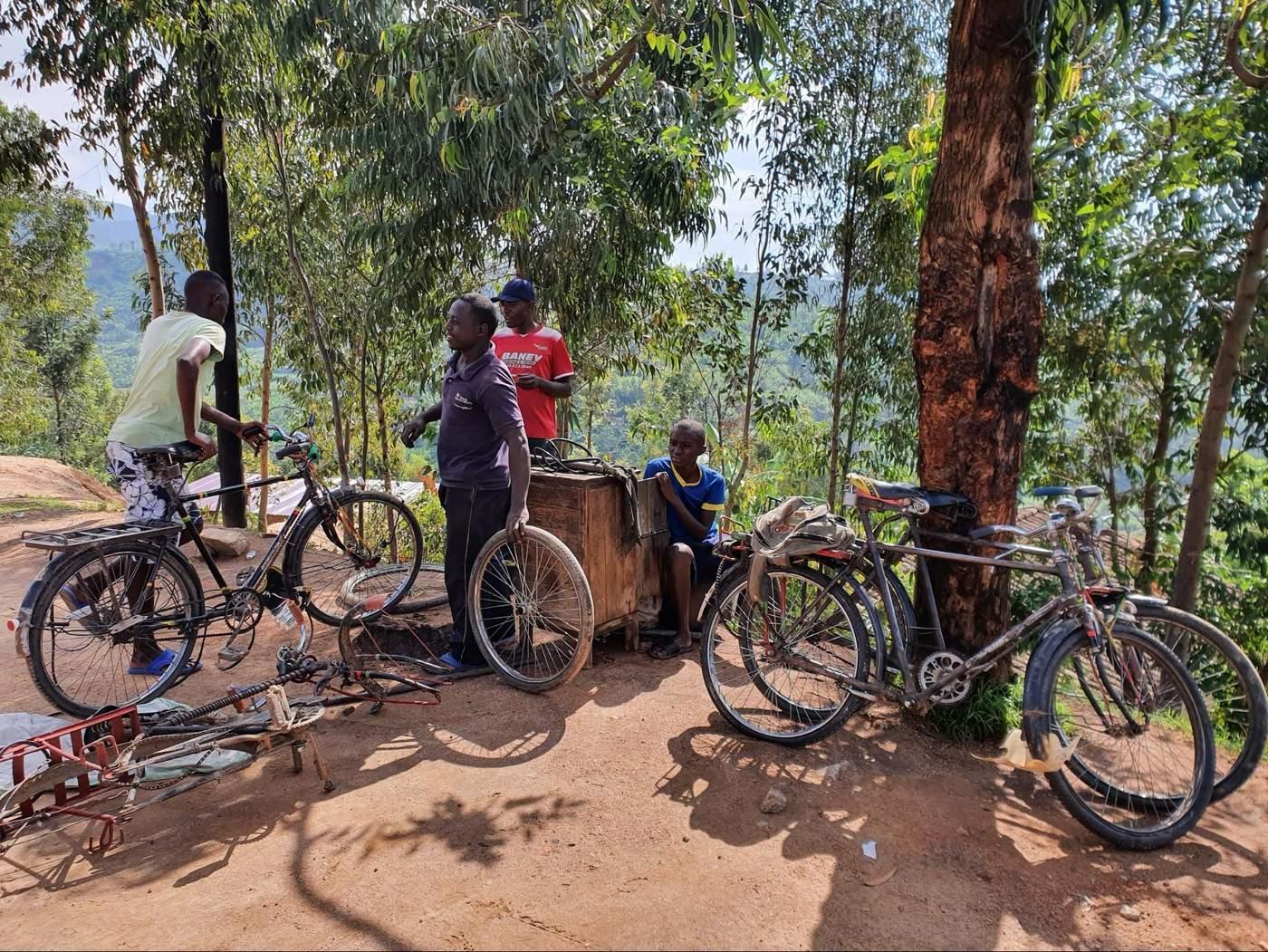 עצירות בקונגו נייל טרייל