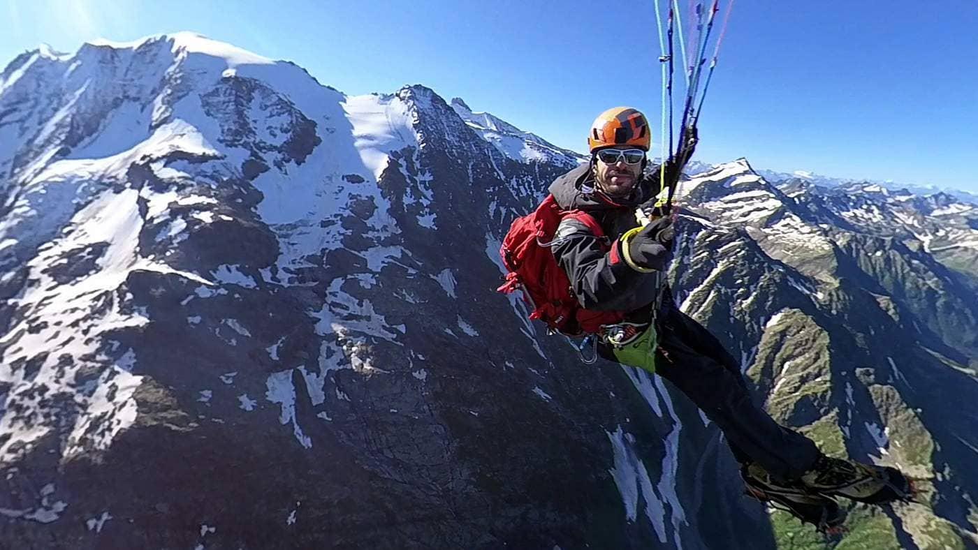 טיפוס הרים ומצנחי רחיפה